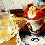 ロコ カフェ - セットのジンジャーティー