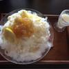 大福茶屋さわた - 料理写真:塩檸檬麹甘酒の雪くま 650円