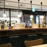 武蔵野うどん こぶし - 立川駅北改札付近の構内のお店です。