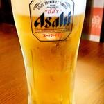 築地魚河岸 海鮮 - ドリンク写真:生ビール 500円