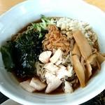 69943755 - 冷したぬき麺《夏季限定》~麺は胡椒麺~【Jul.2017】