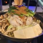 麺家 三士 - もつ鍋