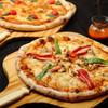 ピッツァ・カフェ やまねこ - 料理写真:LサイズとMサイズをご用意しています。ベーコンなどの加工肉はすべて無添加です。
