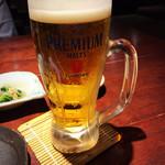 寅八商店 - 生ビール