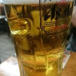 胡家小館 - ¥99ビール、ややぬるい