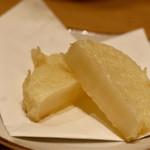 天ぷらと日本酒 明日源 - ふろふき大根