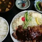 きくよし - 料理写真:トンテキ定食