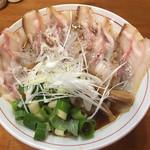 醤油と貝と麺 そして人と夢 - 料理写真:肉そば イベリコ豚レアチャーシュー増しに