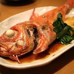 魚河岸本舗 魚魚屋 - のどぐろ煮付
