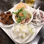 中華菜館 水蓮月 - ちょっと一杯お試しセット(生ビール2杯付き)