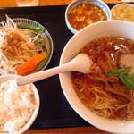 香湯ラーメン ちょろり - ランチセットA.野菜