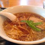 香湯ラーメン ちょろり - らーめん(醤油)