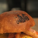 JAGBAR potato & hamburger - ベーコンチーズバーガー