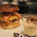 JAGBAR potato & hamburger - クリームポテトセット(仮フラワー)