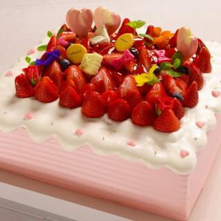 他には無い、大きな記念日ケーキ購入可能です♪