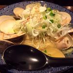 和風楽麺 四代目 ひのでや - はまぐりラーメン