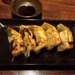 和風楽麺 四代目 ひのでや - 餃子(1皿 5個)