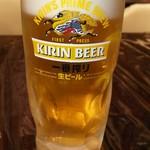 インドの恵み - 生ビール