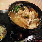 そば処 まるか家 - 料理写真:揚げもちそば ¥800