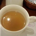 ペルラン - ドリンク写真:エノキダケのスープ