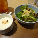 THE RIGOLETTO - スープとサラダ
