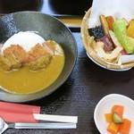 鎌倉野菜カレー かん太くん - ・「カツカレー(¥1274)」