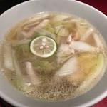 虎萬元 - 鶏ゆず麺