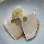 赤坂 多に川 - 豆腐