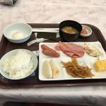 気仙沼プラザホテル - 料理写真:朝食はバイキング
