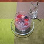 クロスオーバー - 【ランチ】とある日の「椀DISHdeめし」のデザート「ベリーベリーカクテル」です。