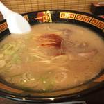 一蘭 - 料理写真:麺の量が少ない、かえ麺を含め1人前かな? 780円