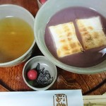 赤福 - 赤福ぜんざい     ¥520