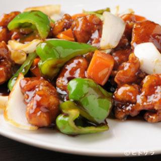 お酒とも相性抜群。野菜たっぷりのヘルシーな中華料理