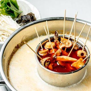 激辛マーラー串&(濃厚牛骨スープ)マーラータン