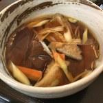 武蔵野うどん 一彩 - 「椎茸汁」