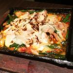 九州料理 個室居酒屋 永山本店 - チーズ鉄板焼き