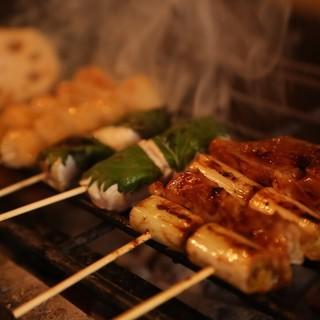丁寧に焼き上げる本当に美味しい炭火焼