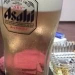 豊後焼肉 まる金 - 生ビール