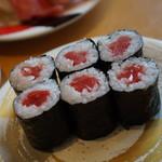 くるくる寿司 ほがらか亭 - 鉄火巻330円