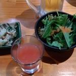魚to畑 - スムージーとサラダと小鉢