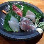 魚to畑 - 刺身5品