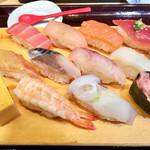 魚がし日本一 - 特盛にぎり980円