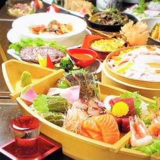 【新鮮魚介】鮮度自慢の魚を中心とした海鮮は当店絶対の自信!