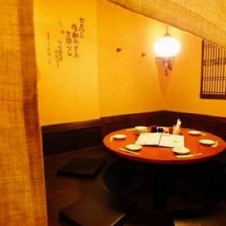 【席のみ予約可】5~30名様以上ご利用可能な個室完備