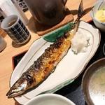築地もったいない プロジェクト 魚治 - 魚治定食