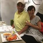 石垣牛と島料理 佐々木勝 - 結婚記念日をお祝いさせていただきました♪