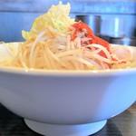 らーめん福たけ - モスラ+野菜増しニンニク増し辛味増し