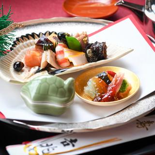 様々なお祝い事に…銀座吉兆土日祝日限定「お祝いプラン」