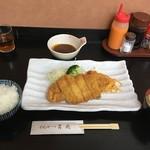 69977233 - ロースかつ定食(100g)