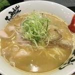 麺屋 丈六 - 鶏白湯ラーメン(700円)